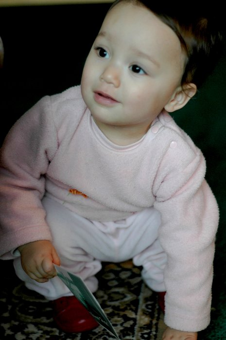 6岁混血儿宝宝可爱照片