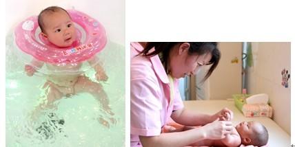 的重金属作用,宝宝头发中也就没 给婴幼儿用软水游泳洗澡,孩子不图片